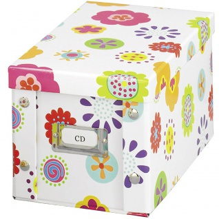 ZELLER CD-Box, Pappe, 15 cm hoch