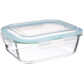 Lebensmittelbehälter mit Deckel, 2, 26 Liter, Glas