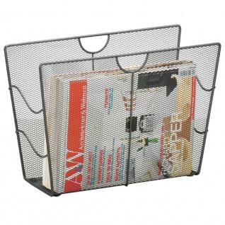 ZELLER Zeitungsständer, Mesh, anthrazit - Vorschau 3