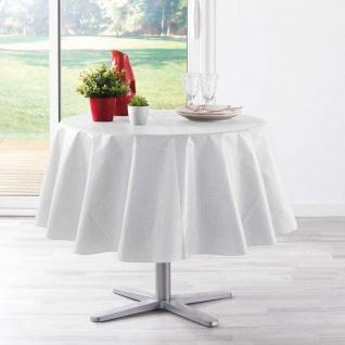 Runde Tischdecke PEVA ALESSA, Ø 160 cm, grau