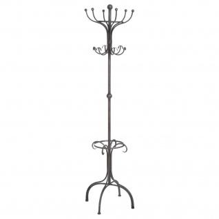 Garderobenständer für Flur, 191 cm, Metall