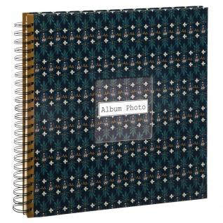 Fotoalbum, 240 Seiten, Spirale, dunkelblau - Atmosphera - Vorschau 5