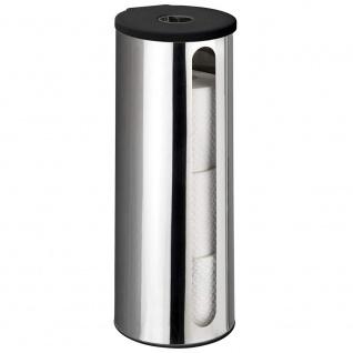 Behälter für Ersatzpapierrollen, Stahlwandwanne DETROIT - WENKO
