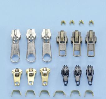 WENKO Reißverschluss-Reparatur-Set, 22-teilig Metall-Reißverschlüsse