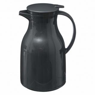 Thermokanne mit Deckel und Griff, Kunststoffbehälter für heiße Getränke - 950 ml, SECRET de GOURMET