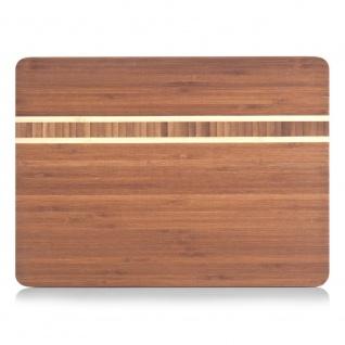 Zeller Schneidebrett 34 x 25 x 1.5 cm, Bamboo