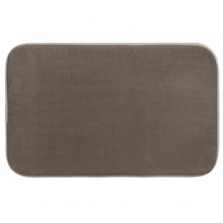 Badematte SOFT, 80 x 50 cm, grau - 5five Simple Smart