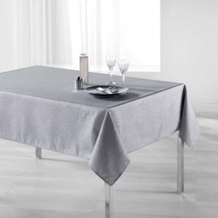 Tischdecke rechteckig PALACIO, 150 x 200 cm, grau