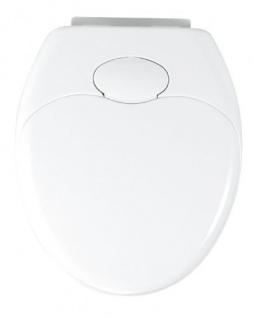 WENKO WC-Sitz Toilettendeckel Klobrille Klodeckel Toilettensit Family