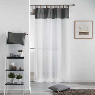 haltona Panel Ösen haselnuss 240 x 140 cm Douceur d/'intérieur Polyester