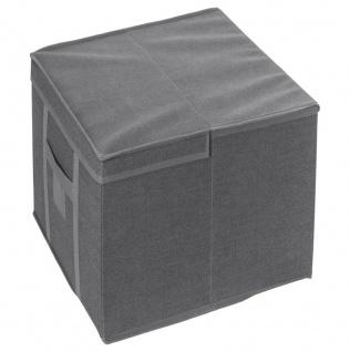 Box mit FIVE Vakuumbeutel, quadratischer Behälter mit Aufbewahrungsdeckel