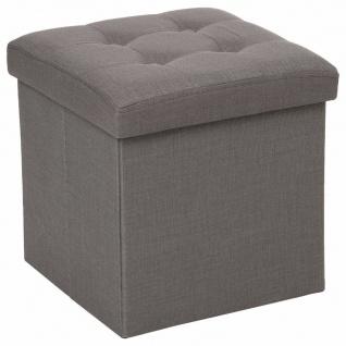 Gepolsterter Hocker für Wohnzimmer und Flur, bequemer Sitz für den Raum