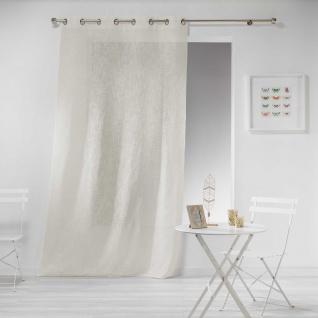 haltona Panel Ösen, Polyester, Natur, 240 x 140 cm - Douceur d'intérieur