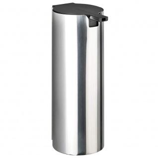 Wandspender für Flüssigseife, eleganter Stahlbehälter DETROIT mit einfacher Installation - WENKO