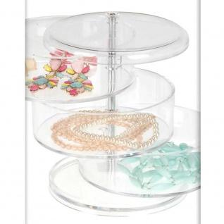 Box, Behälter für Kosmetik, Schmuck, Kleinigkeiten - 3 Ebenen