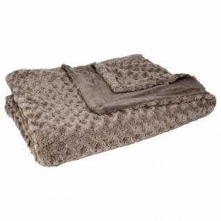 Decke, extra weicher Bettüberwurf, 180 x 230 cm, perfekt für kalte Tage - Atmosphera
