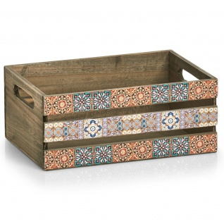 Deko-Kiste für Accessoires, MOSAIC, 32 x 22 x 13, 5 cm, ZELLER - ZELLER