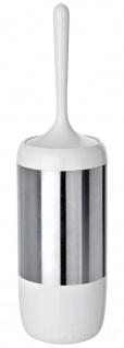 Wenko, WC-Garnitur Loft - Edelstahl rostfrei, Kunststoff