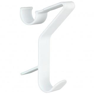 FLEXI Badezimmer-Halterungen für Heizkörper, 3er Set Kunststoff-Kleiderbügel - WENKO - WENKO