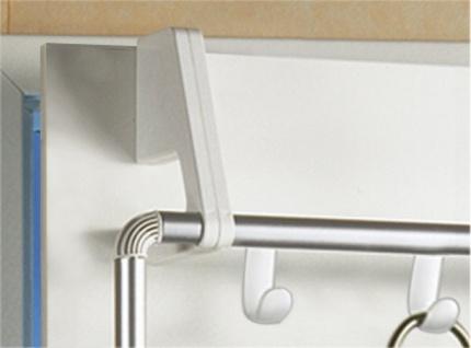WENKO Handtuchhalter für Tür und Duschkabine Compact mit 3 Querstangen - Vorschau 3