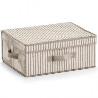 Aufbewahrungsbox, Faltbehälter mit Deckel - 38 x 29 x 16, 5 cm, ZELLER