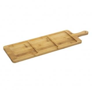 APERITIVE Serviertablett, Brett, 56x17 cm, Bambus - Secret de Gourmet