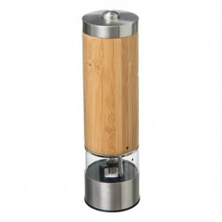 Elektrische Salz- und Pfeffermühle, Bambus