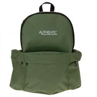 Rucksack AUTHENTIC für Jugendliche 15 l - grün