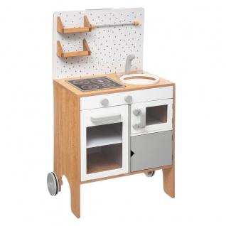 Kinderküche aus Holz, 51x34x91 cm, Spielzeug - Atmosphera for kids