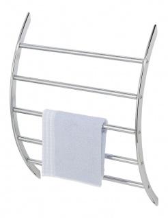 WENKO Exclusiv Wand-Handtuchhalter mit 5 Stangen, Stahl