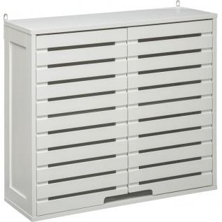 Hängeschrank SICELA für Badezimmer, weiß, MDF, 58 x 20 x 51 cm