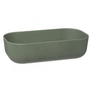 Lunch-Box mit Deckel aus Bambus, 20 x 11, 5 x 6 cm, grün - Vorschau 3