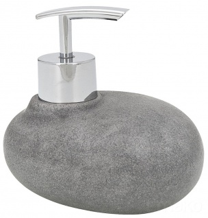 Wenko Seifenspender Seifendosierer Lotionsspender Spender Dosierer Pebble Stone