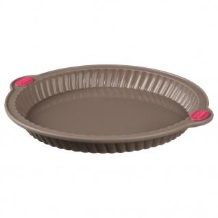 Runde Form zum Backen von Kuchen - Silikon, Antihaft-Schicht, 29 cm