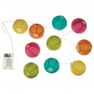 LED Laternen mit 1, 2 m 10 Leuchten passen für Kinderzimmer