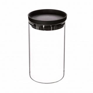 Lebensmittelbehälter mit Deckel, Glas, 1 Liter