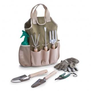 ZELLER Garten-Set mit Tasche, 9-teilig