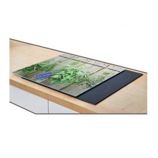 Herdblende- und Abdeckplatte, Lavender, Glas, groß, ZELLER - Vorschau 2