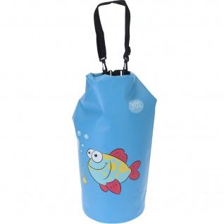 Wasserdichte Segeltasche, 30 L, blau