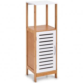 Badezimmerschrank mit Ablage, Badregal, Möbelstück aus Bambus-Kollektion, Zeller - Vorschau 1
