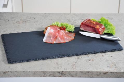 Buffet-Platte aus Schiefer, Ein Tablett zum Servieren von Mahlzeiten, 60 x 30 cm
