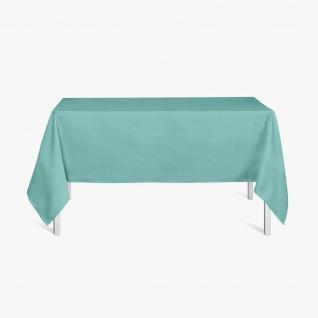 Quadratische Tischdecke, 150x250 cm, DIABOLO, pfefferminzgrün, TODAY - Today