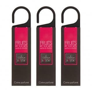 Set von 3 Anhängern mit dem Duft von roten Früchten - Atmosphera