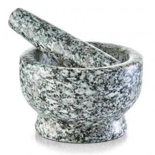 Zeller 24503 Mörser und Stößel Set, Granit