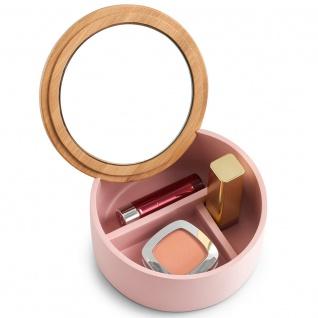 Organizer mit Fächern für Kleinteile, stylische Box mit Spiegel - ZELLER - Vorschau 4