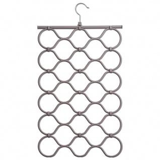 Rack für Träger, Schals und Schals, Organizer mit 28 Ösen für Zubehör - ZELLER