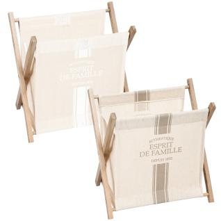 Zeitungsständer, Zeitungskorb, Zeitschriftenständer 32 x 32 x 23 cm