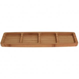 Serviertablett aus Bambus 33x10x2 cm
