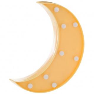 LED-Licht, leuchtender Mond mit 8 Glühbirnen wird die perfekte Beleuchtung im Kinderzimmer sein - Atmosphera