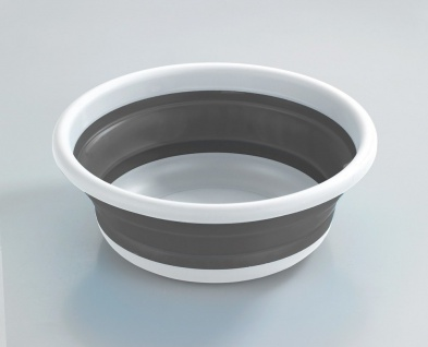 Silikonschale für Küche oder Bad, runder Faltbehälter - Durchmesser. 32, 5 cm, VENKO